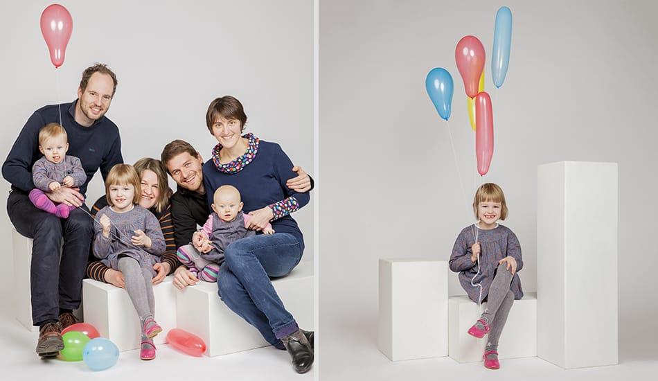 Schöne Familyfotos