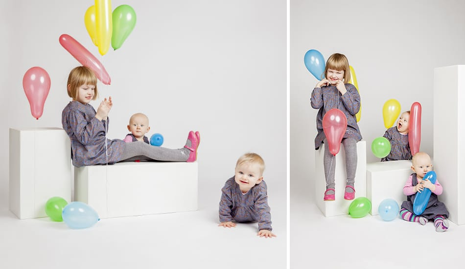 Kinderfotos im Fotostudio