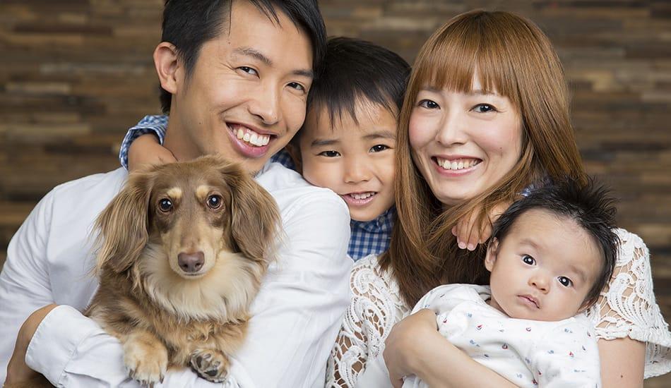 Familienbilder, Fotoatelier Portraitfotostudio