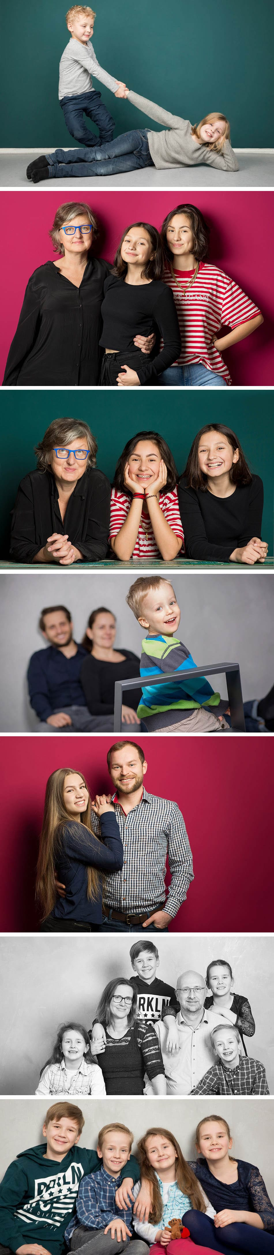 Familienfotoshooting